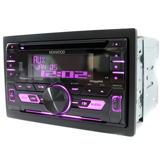 Kenwood Dpx502bt Double Din In Dash Cd Receiver With Bluetooth