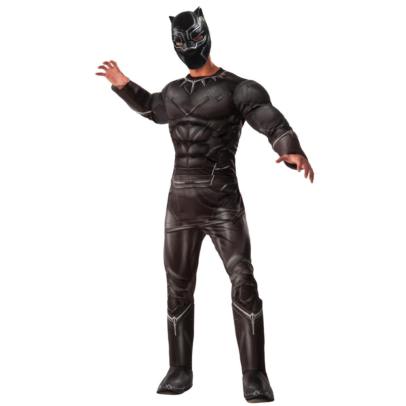 Marvel's Captain America: Civil War Deluxe Mens Black Panther Costume