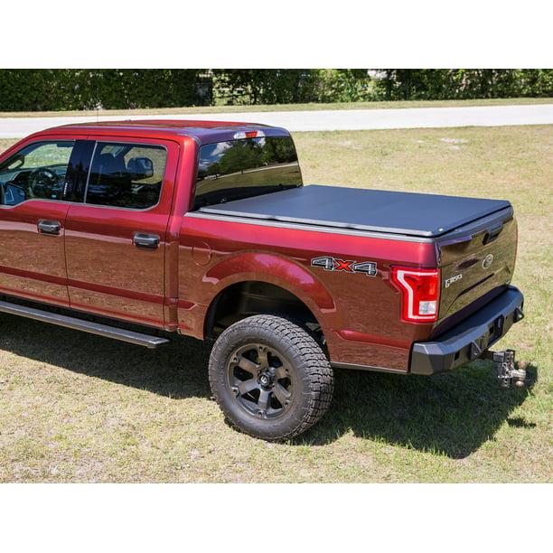 Gator Pro Premium Soft Tri Fold Truck Bed Tonneau Cover 2014 2018 Chevy Silverado Gmc Sierra 5 8 Ft Bed Walmart Com Walmart Com