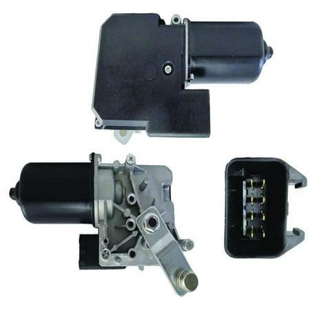 New Front Wiper Motor W/Pulse Board Module Fits Cadillac Deville 2000 2001 2002 2003 2004 2005 - Gm Wiper Motor Pulse Board