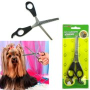 "Pet Thinning Shears 6"" Professional Scissors Toothed Grooming Hair Fur Dog Puppy"