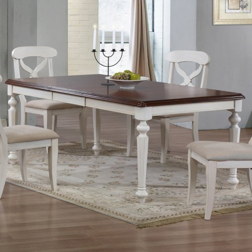 Sunset Trading Andrews 5 Piece Rectangle Dining Set - Antique White