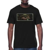 Star Wars The Child Mandalorian Snap Shot Men's and Big Men's Graphic T-shirt