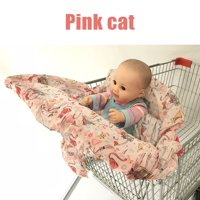 Unisex Germ-Free Comfortable Baby Chair Seat Cover Shopping Cart Cover Protector