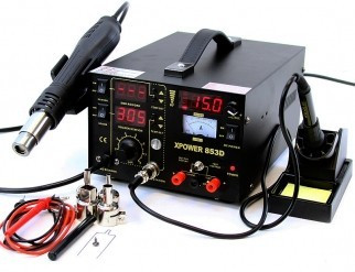 Table Top De Soldering Station Tool Iron Solder Electronic Pinball Arcade Bench by