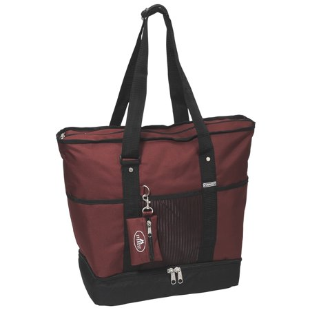 Deluxe Shopping Tote (Set of 2) 16.5x 14x 7 ()