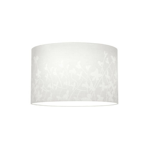 """Progress Lighting P8766 Chloe 16"""" Floral Fabric Shade for P5198 or P5199 Stems,"""