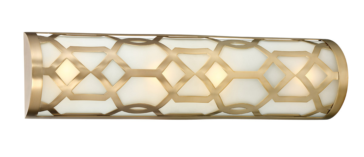Crystorama 2264-AG-LED Jennings Wall Sconce, Aged Brass by Crystorama Inc