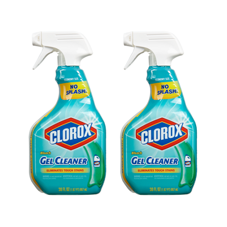 Bleach Cleaner - (2 pack) Clorox Bleach Gel Cleaner Spray, 30 oz