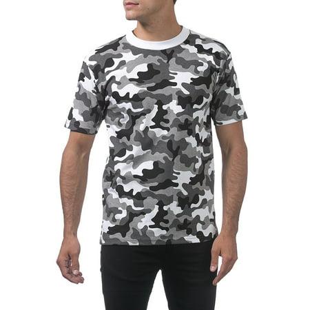 9d4da11c Pro Club - Pro Club Men's Comfort Cotton Short Sleeve T-Shirt, Small, City  Camo - Walmart.com
