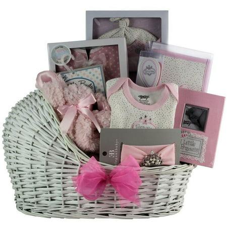GreatArrivals.com Gift Baskets Great Arrivals Little Princess Baby Girl Gift Basket