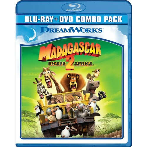 Madagascar: Escape 2 Africa (Blu-ray + DVD) (Widescreen)