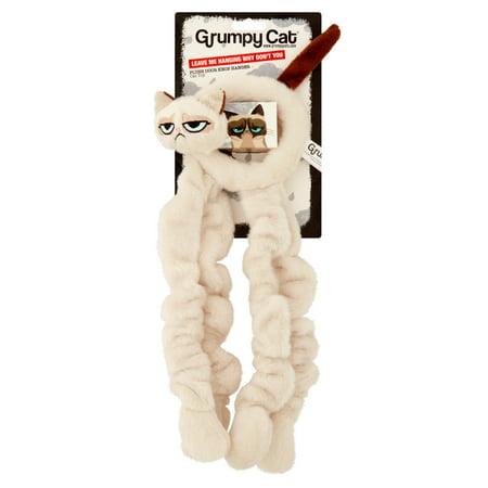 Grumpy Cat Plush Door Knob Hanger Cat Toy