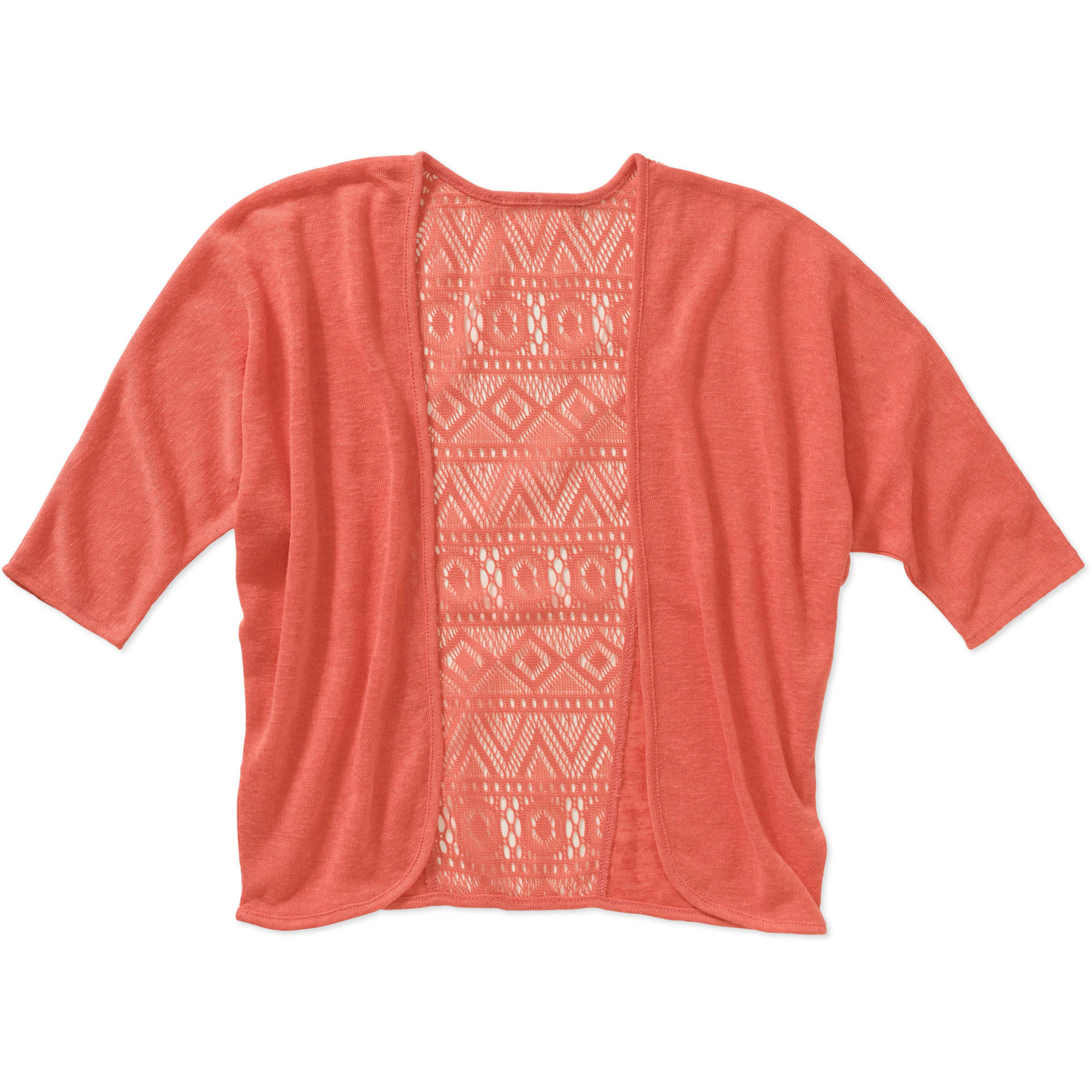 Almost Famous Girls' Lace Back Cardigan