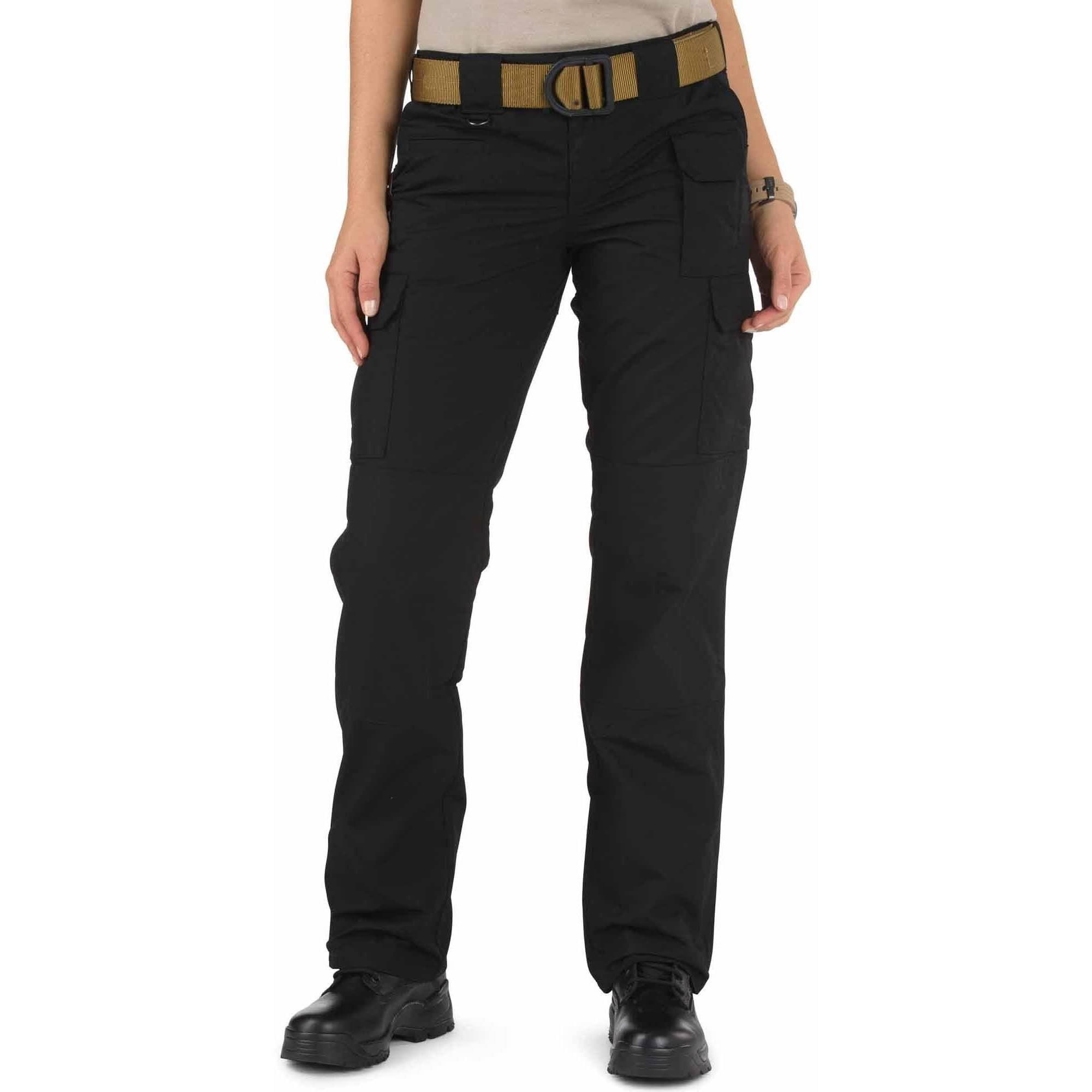 5.11 Women's Taclite Pant, Black, 4 Long