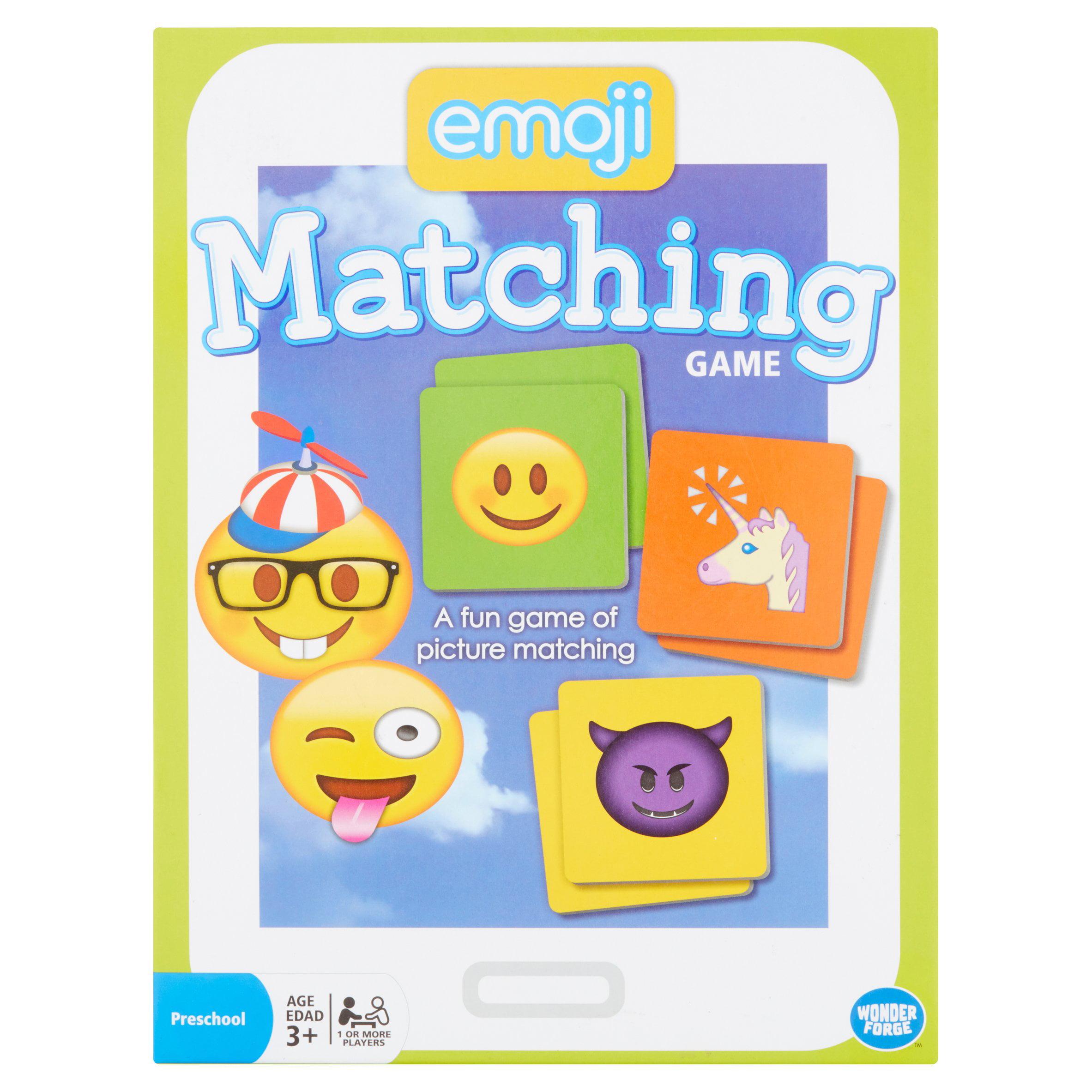 Wonder Forge Emoji Matching Preschool Game Age 3+