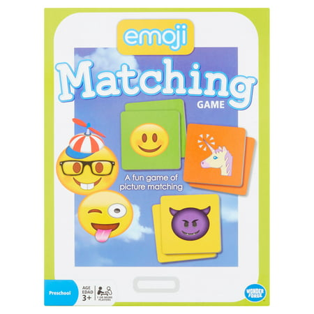 Wonder Forge Emoji Matching Preschool Game Age 3+ - Preschool Class Halloween Games