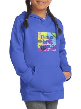 Hanes Sport Tech Fleece Raglan Hoodie (Little Girls and Big Girls)
