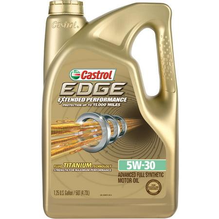 Castrol  Edge  Extended Performance 5W 30 Full Synthetic Motor Oil  5 Qt