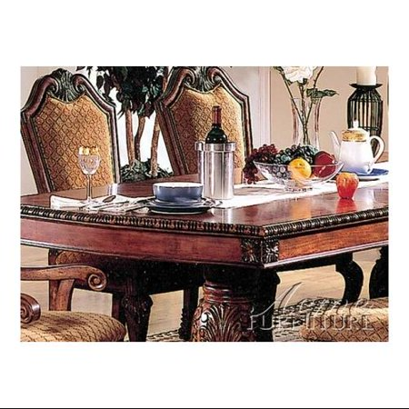 Acme furniture 04075 chateau de ville dining table in for Furniture ville
