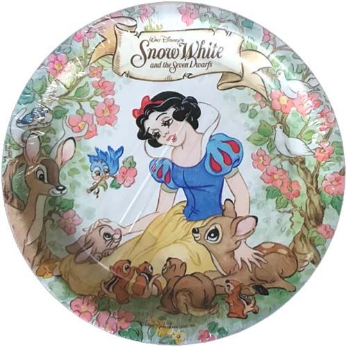 Snow White and the Seven Dwarfs Vintage Large Paper Plates (8ct)*