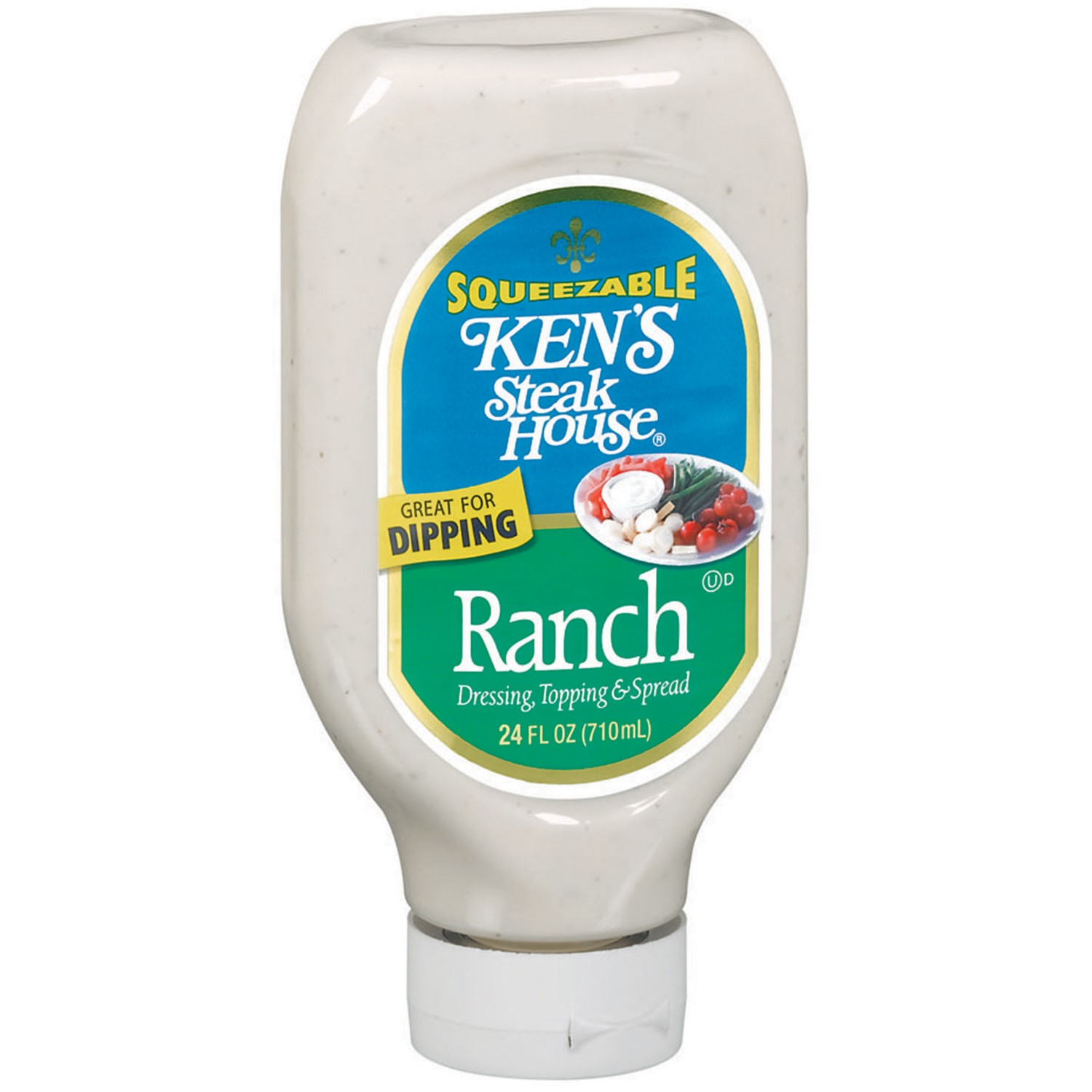 Ken's Steak House Ranch Dressing Topping & Spread, 24 Ounce
