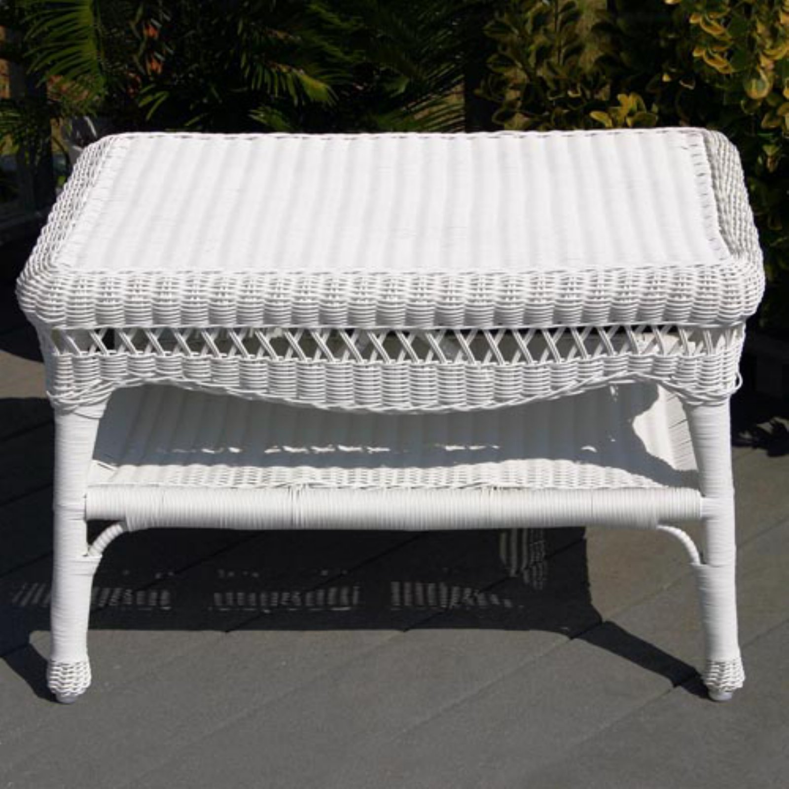 Sahara All-Weather Wicker Coffee Table by Kaven Company Inc
