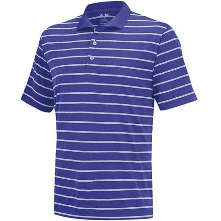 Adidas Golf Puremotion 2-Color Stripe Classic Polo