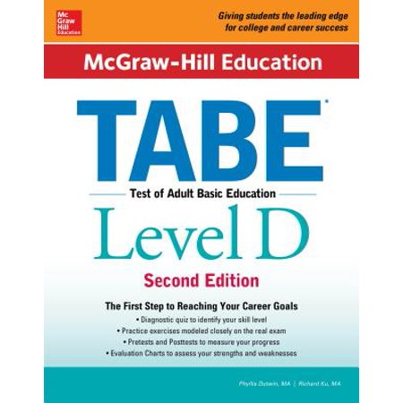 McGraw-Hill Education Tabe Level D, Second Edition - Level D