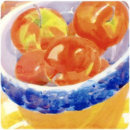 Bowl Of Apples Foam Coasters - Set - Foam Apples