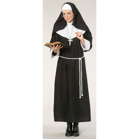 Nun Womens Costume - Halloween Nun Costumes