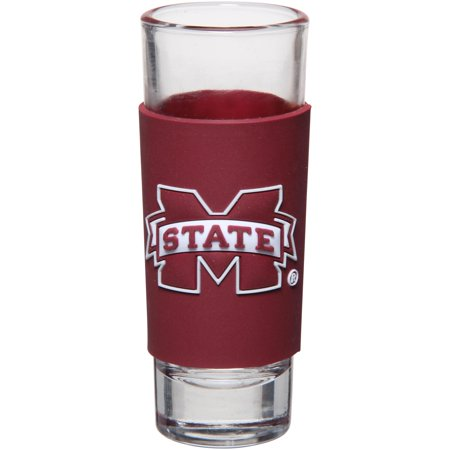 Mississippi State Bulldogs 2oz. PVC Wrap Collector Glass - No Size