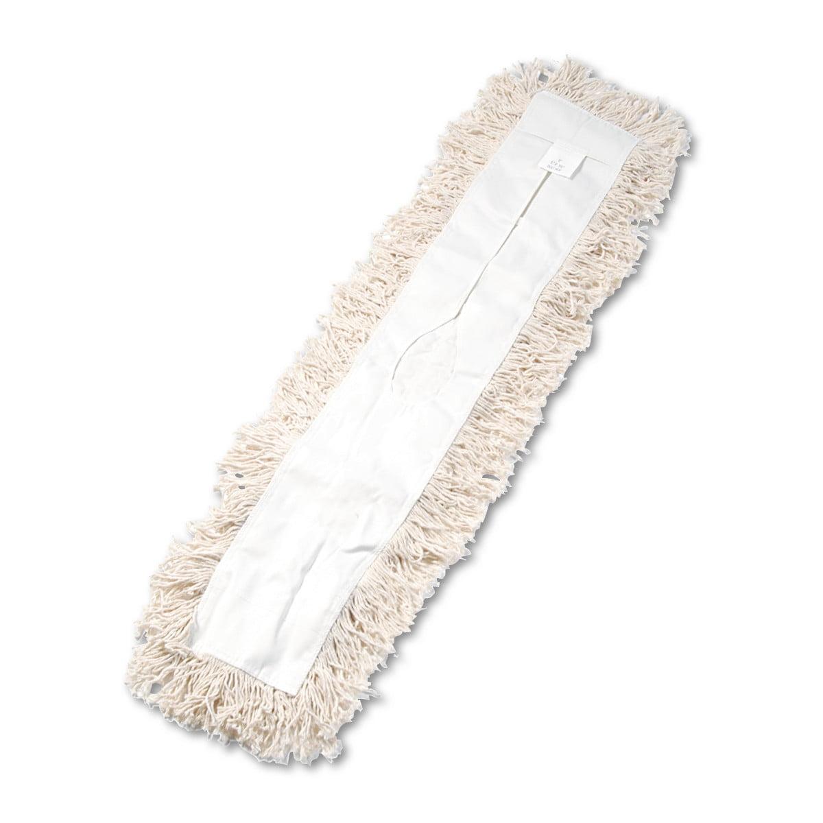 Boardwalk Industrial Dust Mop Head, Hygrade Cotton, 36w x 5d, White -BWK1336 by BOARDWALK