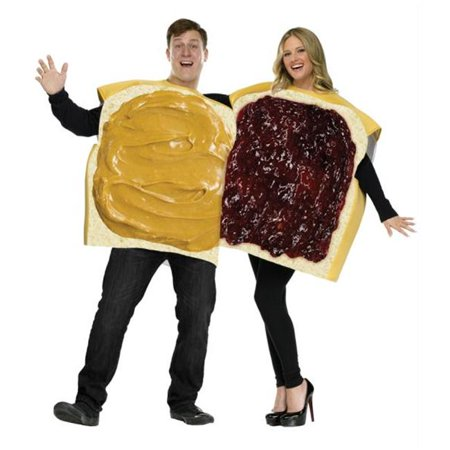 Costumes For All Occasions FW130924 Peanut Butter-Jelly Couple Cos](Halloween Css)