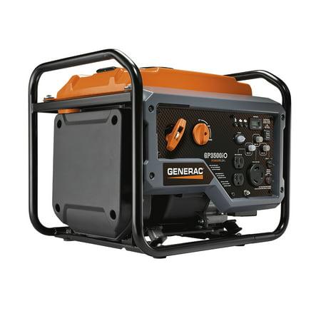 Generac GP3500iO - 3500 Watt Open Frame Inverter Generator - 50 (Best 3500 Watt Generator)