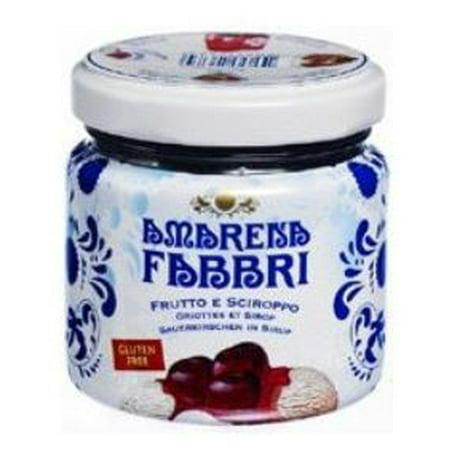 Fabbri Amarena Wild Cherries in Heavy Syrup, 4.23