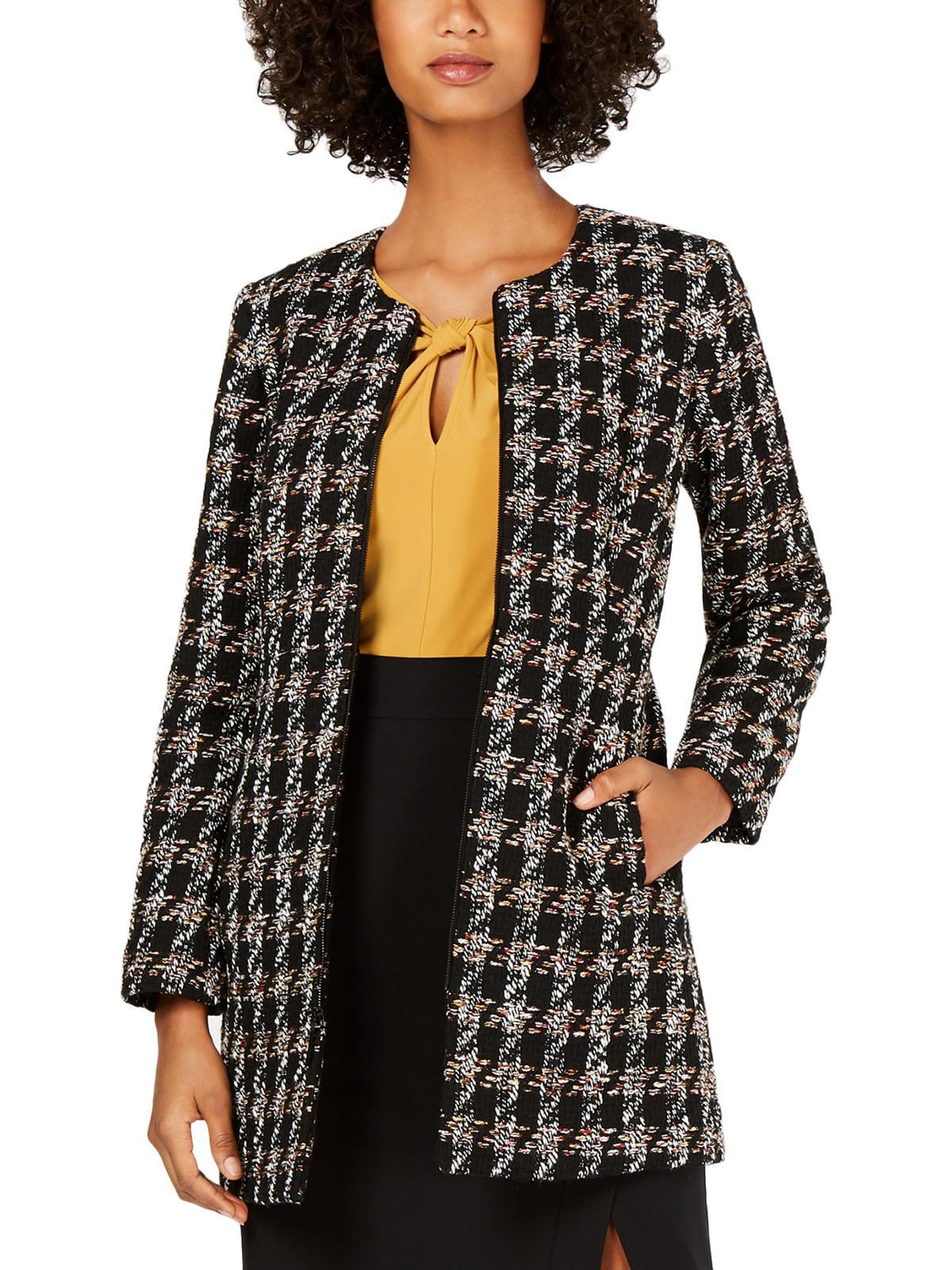 Nine West Women/'s Tweed Topper Jacket