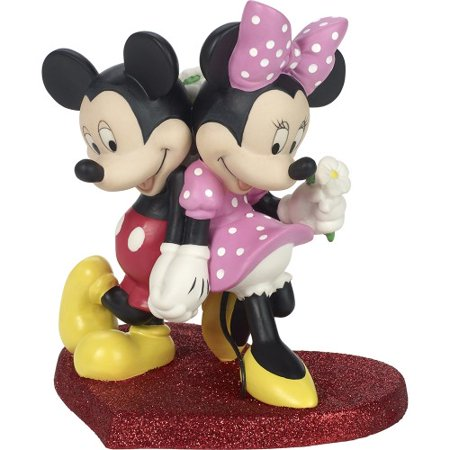 Precious Moments Disney 181702 Lean On Me Mickey and Minnie
