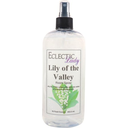 4 Ounce Lily - Lily of the Valley Room Spray, 16 ounces