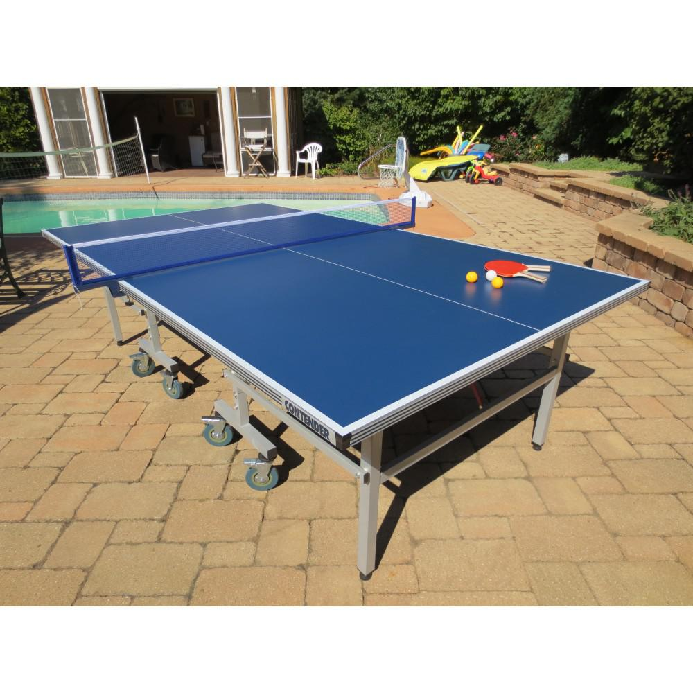 BlueWave Products TABLE TENNIS NG2336P Contender Outdoor ...
