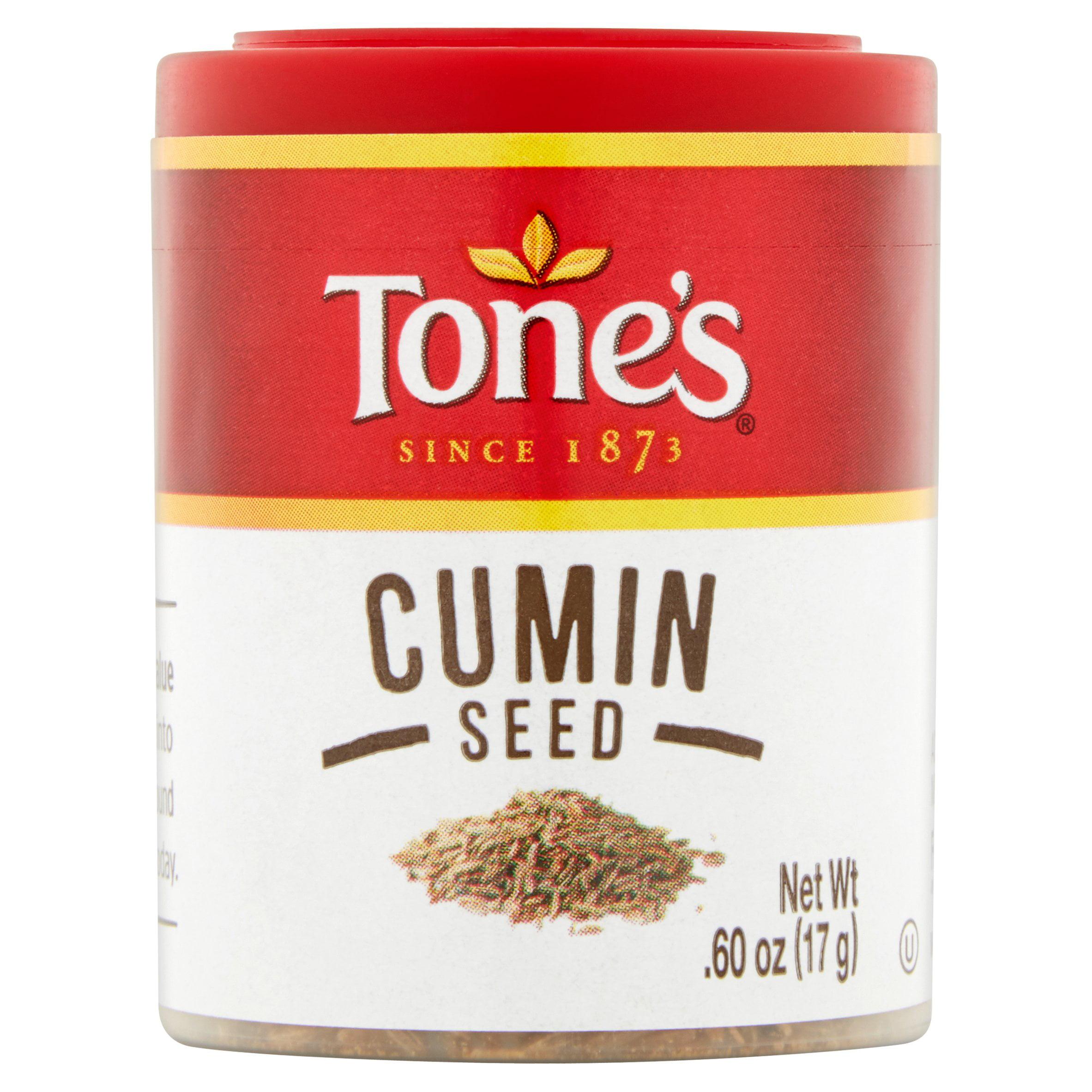 (4 Pack) Tone's Cumin Seed, .60 oz