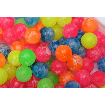 15 Bouncy Jet Ball Mixed 20mm Birthday Party Loot Bag Fillers Kids Birthday Toys (Kids Birthday Parties)