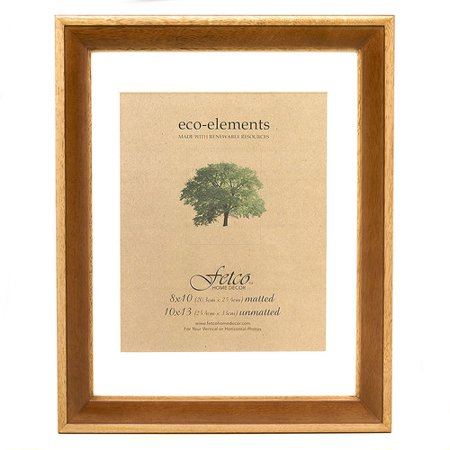 Fetco Home Decor Eco Woods Sierra Matted Wall Picture Frame ...