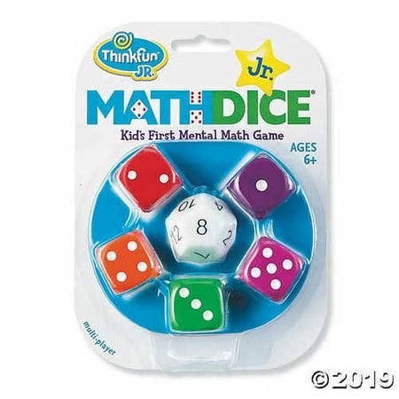 Math Dice Jr.: Set of 3