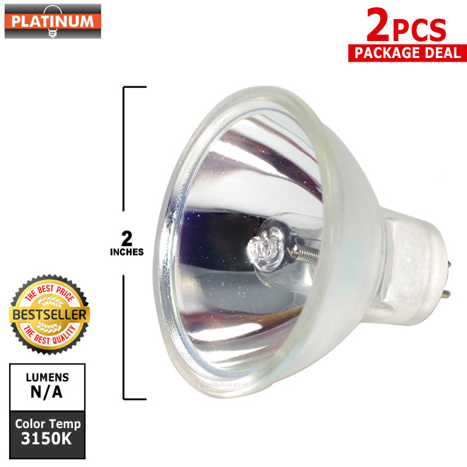 PLATINUM DDL 150w 20v MR16 halogen light bulb x 2 pcs