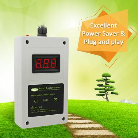 Household Energy Saving Appliances White Intelligent Power Saver Box Smart LED Electricity Saving Device - image 2 of 7