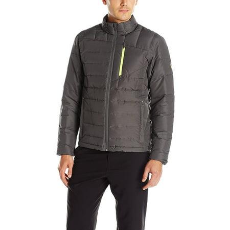 Spyder Dolomite Full Zip 700 Fill Down Jacket X-Large Polar Grey & Bryte Yellow