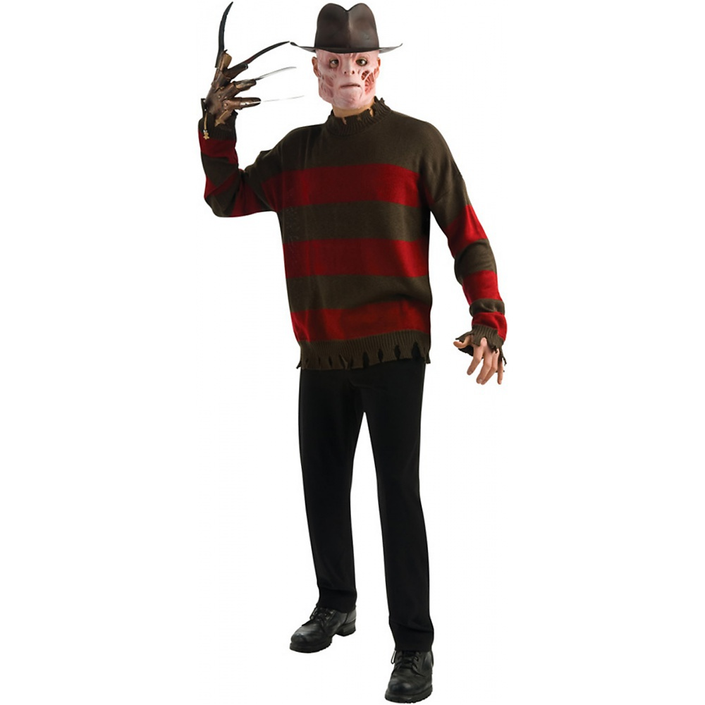 Adult Standard Nightmare Elm Street Freddy Costume Sweater