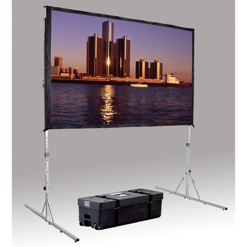 dalite fast fold deluxe portable projection screen - Projection Screens
