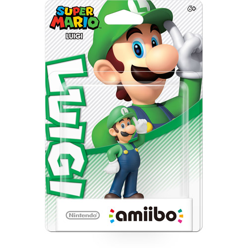 Luigi Super Mario Series Amiibo (Nintendo Wii U or 3DS)
